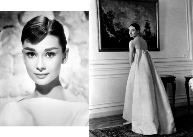 Audrey Hepburn sleeveless dresses