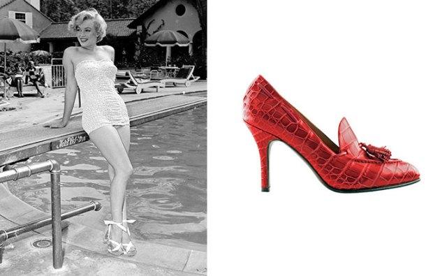 Marylin Monroe celebrities Shoes