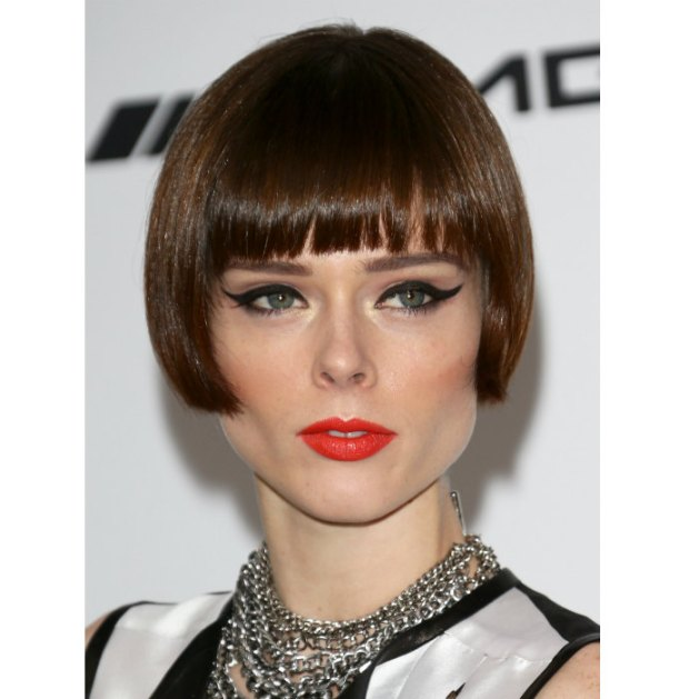 Coco Rocha short haircuts