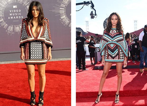 Kim Kardashian; Joan Smalls