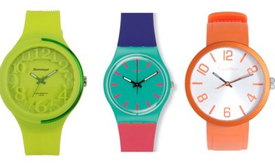 Colored watches