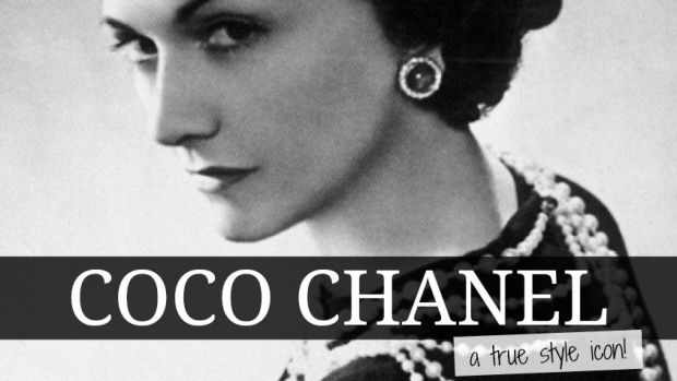 French fashion designers Coco Chanel