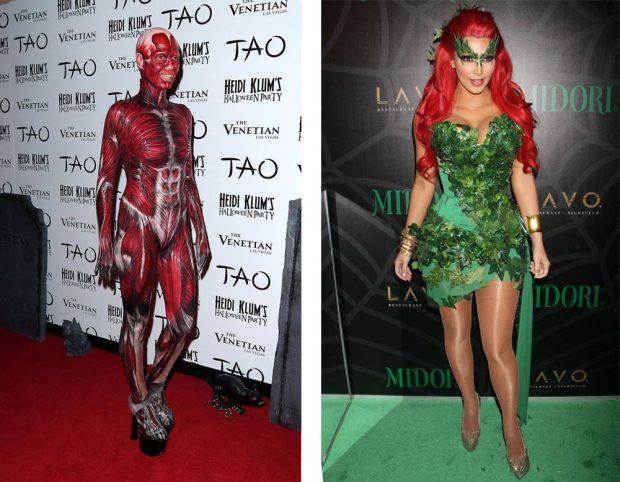 Heidi Klum; Kim Kardashian