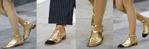 Chanel footwear