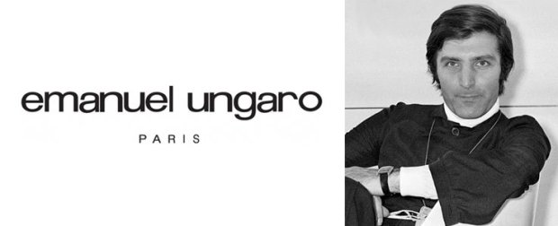 French fashion designers Emanuel Ungaro