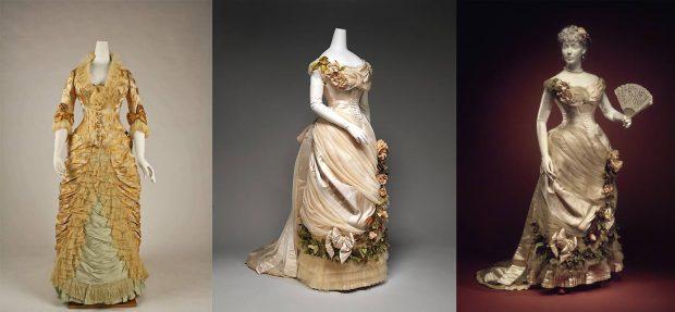 Charles Frederick Worth dresses