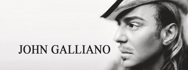 British fashion designers John Galliano