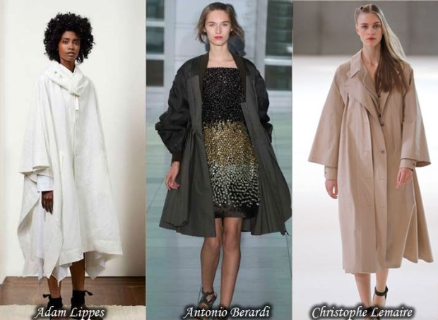 Easy fit trench coats Spring 2016