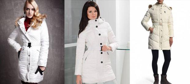 White down jacket Fall Winter 2015 2016