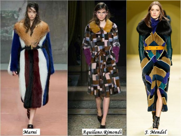 Dyed fur What to wear in Winter 2016