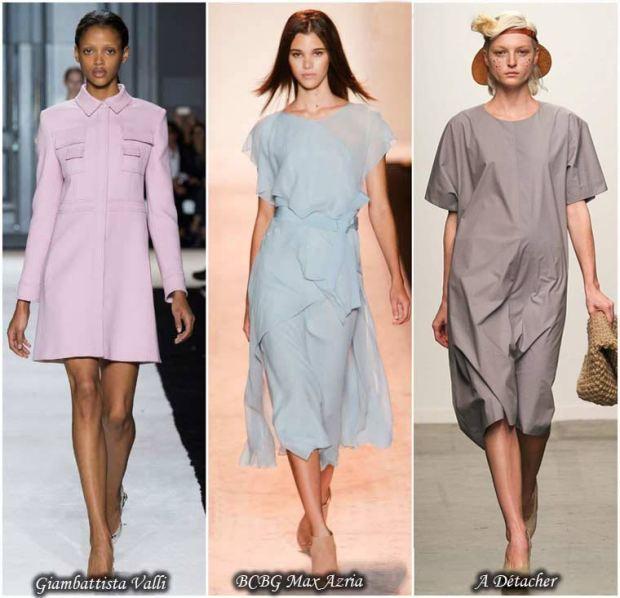 Trendy pastel dresses Spring 2016