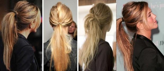 Trendy ponytails