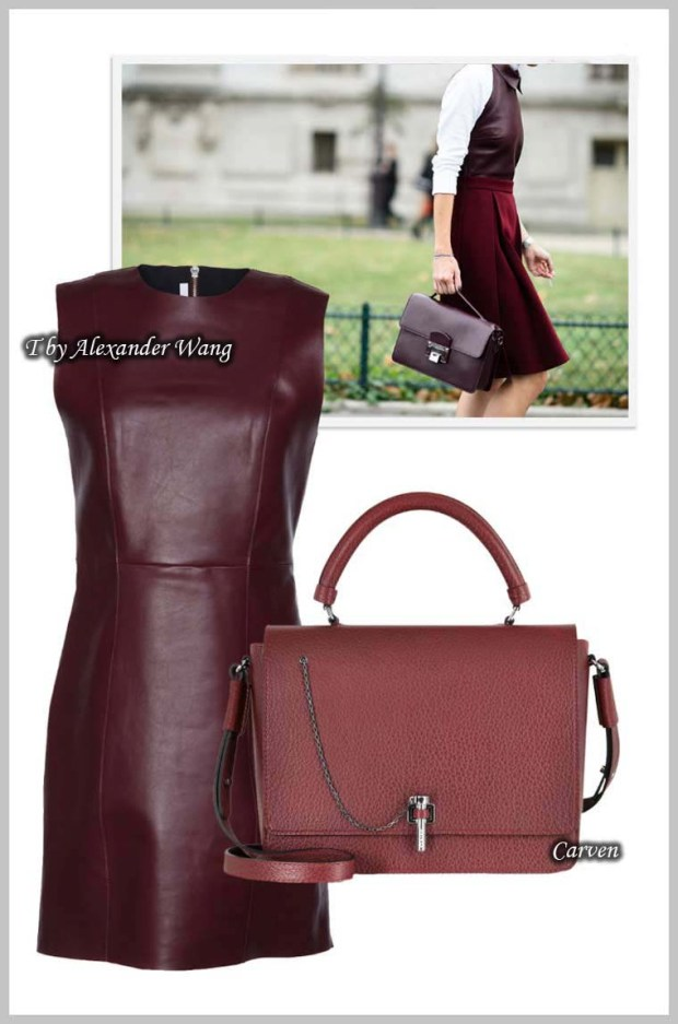 Rich burgundy wine color Spring 2016
