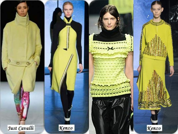 Neon color What to wear in Winter 2016