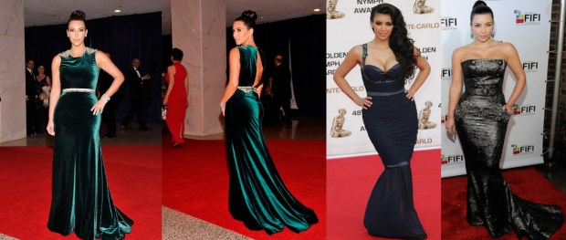 Best Kim Kardashian maxi dresses