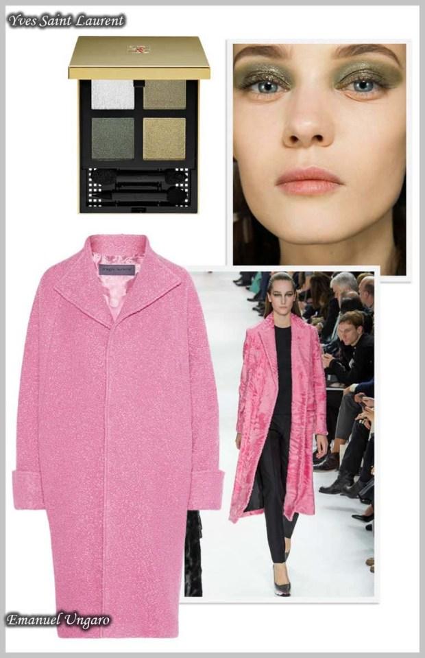 Shimmering pink colour 2016 Spring