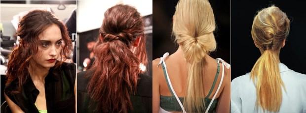 Office ponytails