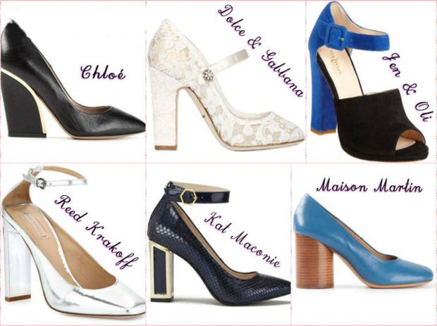 Shoes with comfortable heel Spring 2016