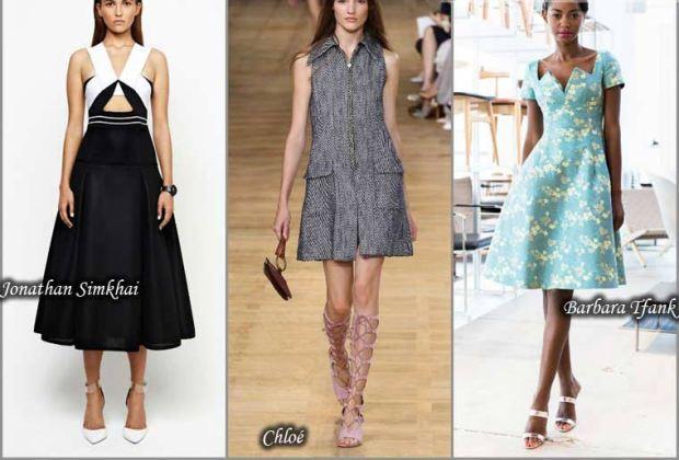 Retro style dress Spring 2016