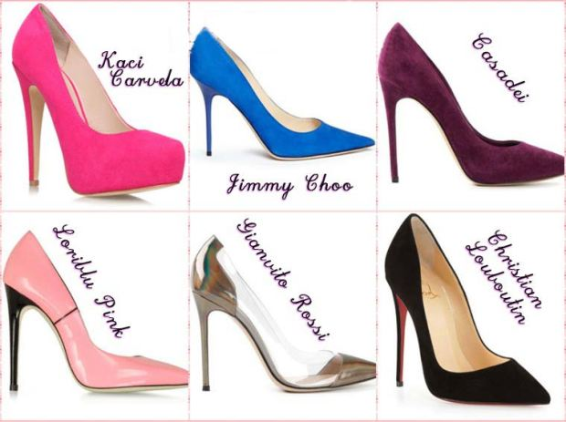 Stiletto heel shoes Spring 2016