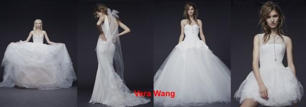 Vera Wang Wedding fashionable dresses Spring-Summer 2016