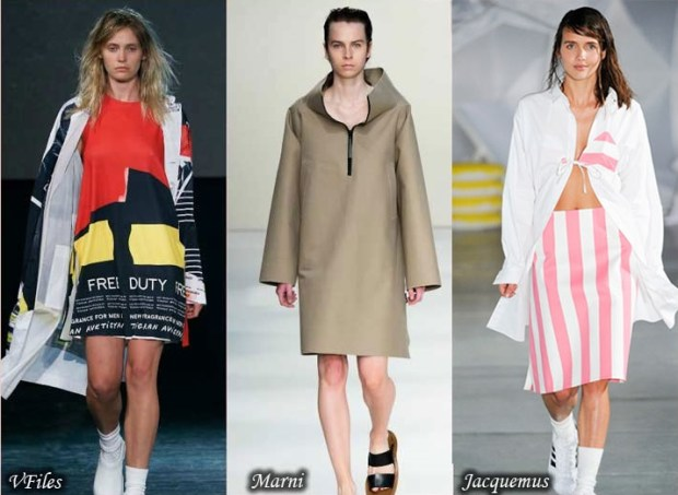 Sport style trench coats Spring 2016