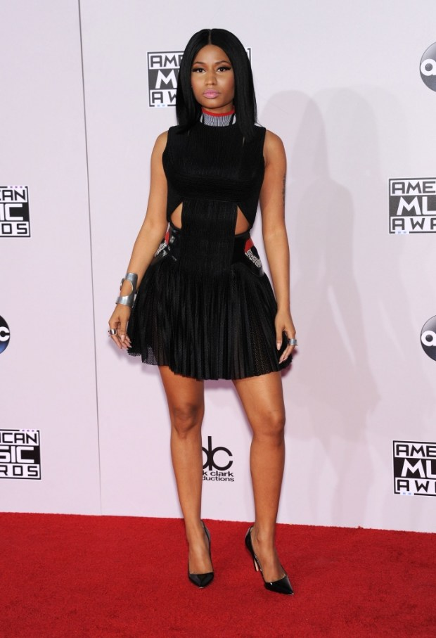 Nicki Minaj outfits at American Music Awards 2015