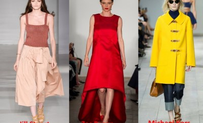 Trendy colors 2015 SS 2015