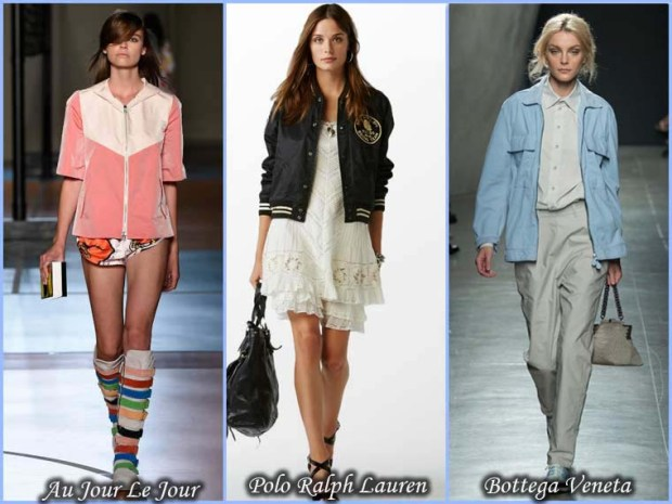 Sport style jackets Spring 2016 - Fashion Trends