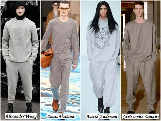 Pajama style men clothes Winter 2016
