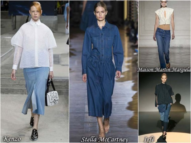 Denim womens suits spring 2016