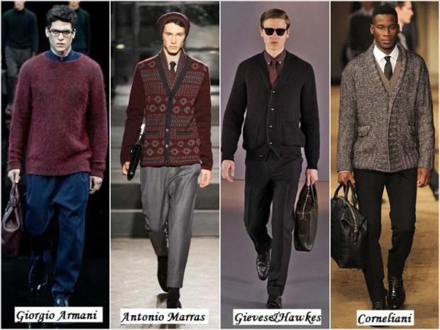 Elegant outfits men Winter 2016