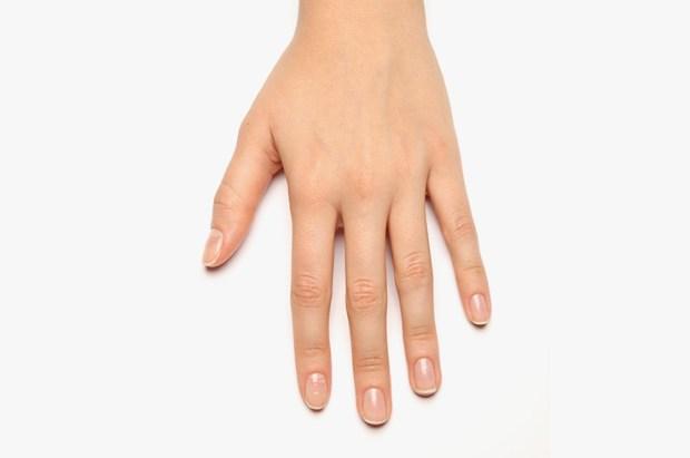 Clean manicure