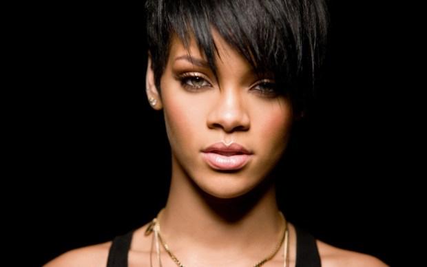 Rihanna short haircut