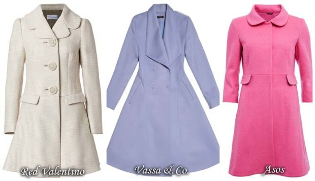 Women Dress coat in retro model