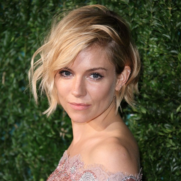 Sienna Miller at the award ceremony British Fashion Awards, December 1, 2015
