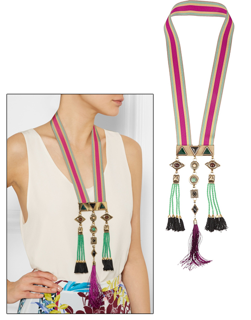 Etro necklace for New Year eve 2016