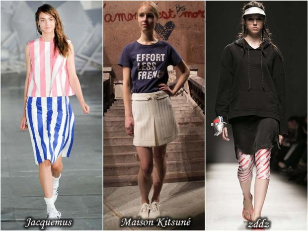 Sport style skirts Spring 2016