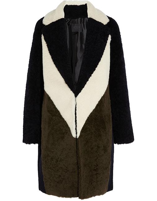New J.Crew fur coat