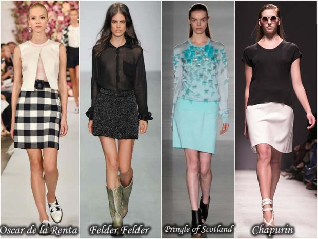 Stylish skirts Spring 2016