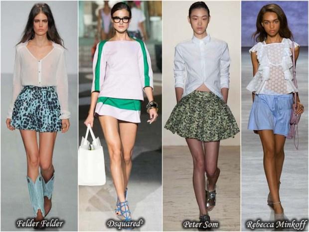 Mini skirts Spring 2016