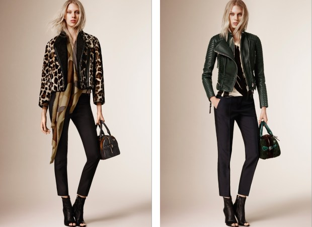 Christopher Bailey presented the Burberry Prorsum mid season collection