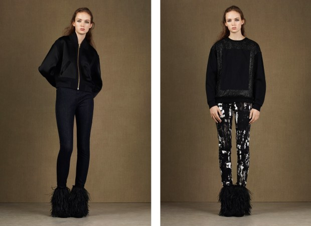 The brand McQ Alexander McQueen presented his mid season collection