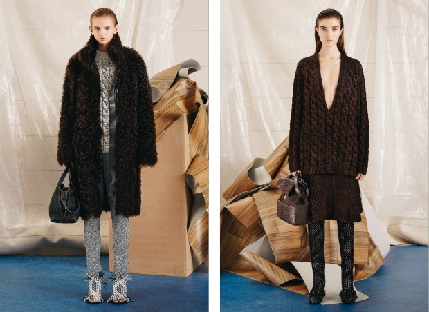 The mid season collection of the American brand Proenza Schouler