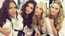 Backstage Victoria's Secret show in London Photos
