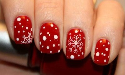 New Year 2015 manicure nails ideas
