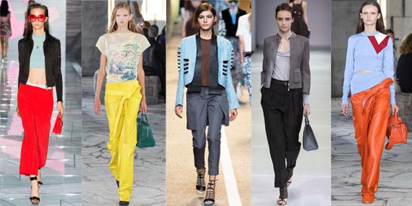 Elegant women pants Spring-Summer 2016