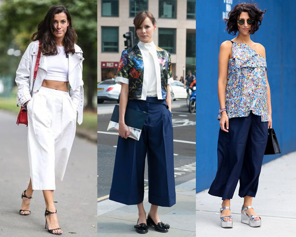 Street style loose pants