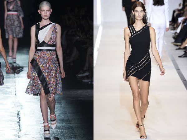 Asymmetrical summer dresses