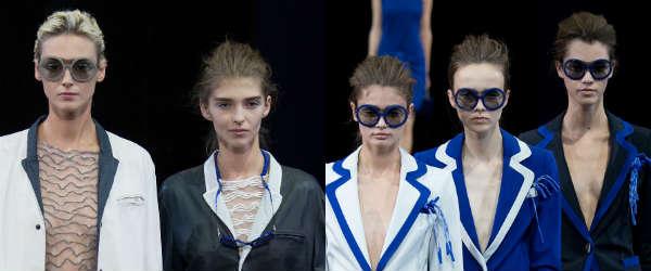 Blue frames